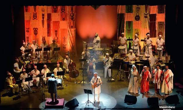 """Un """"PRELUDIO"""" per  """"NEGRO AMOR"""", l'opera di Gilberto Gil e Aldo Brizzi presentata a Reggio Calabria"""