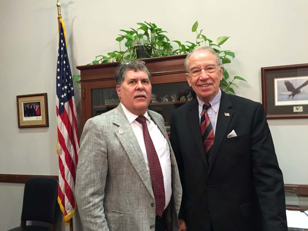 advocate with senator