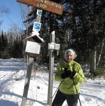 Lynn cross country skiing