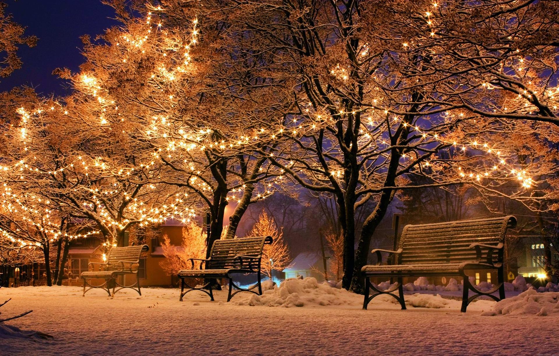Wann Macht Man Die Weihnachtsbeleuchtung An.Nachhaltige Weihnachtsbeleuchtung Nacht Licht