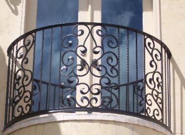 """""""Juliet"""" balcony"""