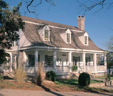 Dutch-style Colonial house