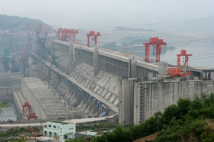 China's Three Gorges Dam is the largest power plant of any kind.