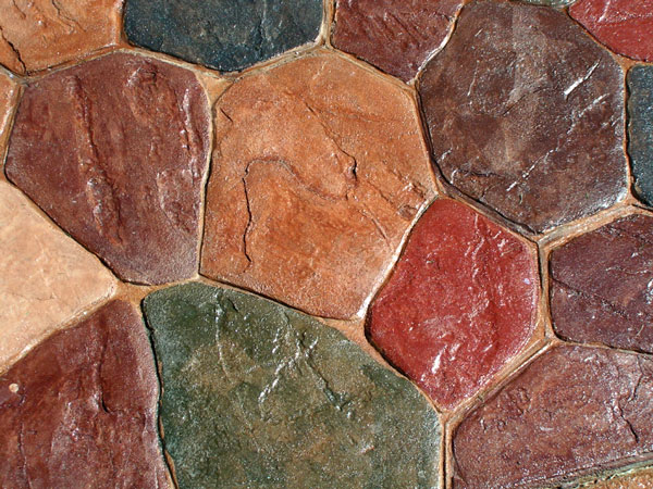 Natural stone floors are durable, but vulnerable to common acids and dirt