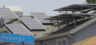Solar panels may not be appreciated by the neighbors