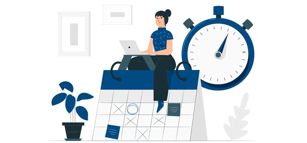 La planificación de las entrevistas con usuarios requiere una gestión de la agenda semanal y del tiempo requerido en cada sesión.