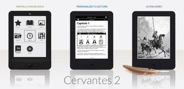 Lector electrónico BQ Cervantes 2