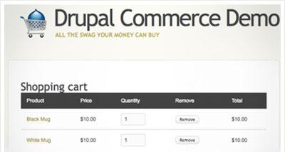 Drupal Commerce, venta online con drupal