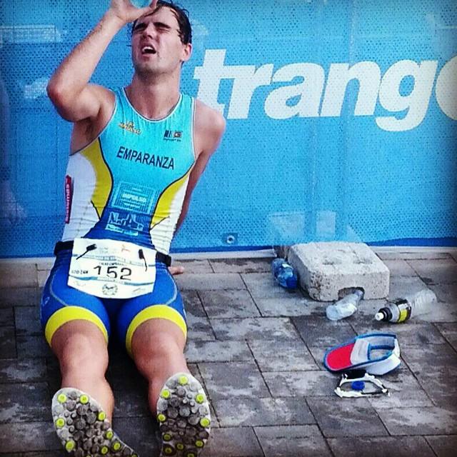 Eneko Emparanza Campeonato España Triatlon 2014