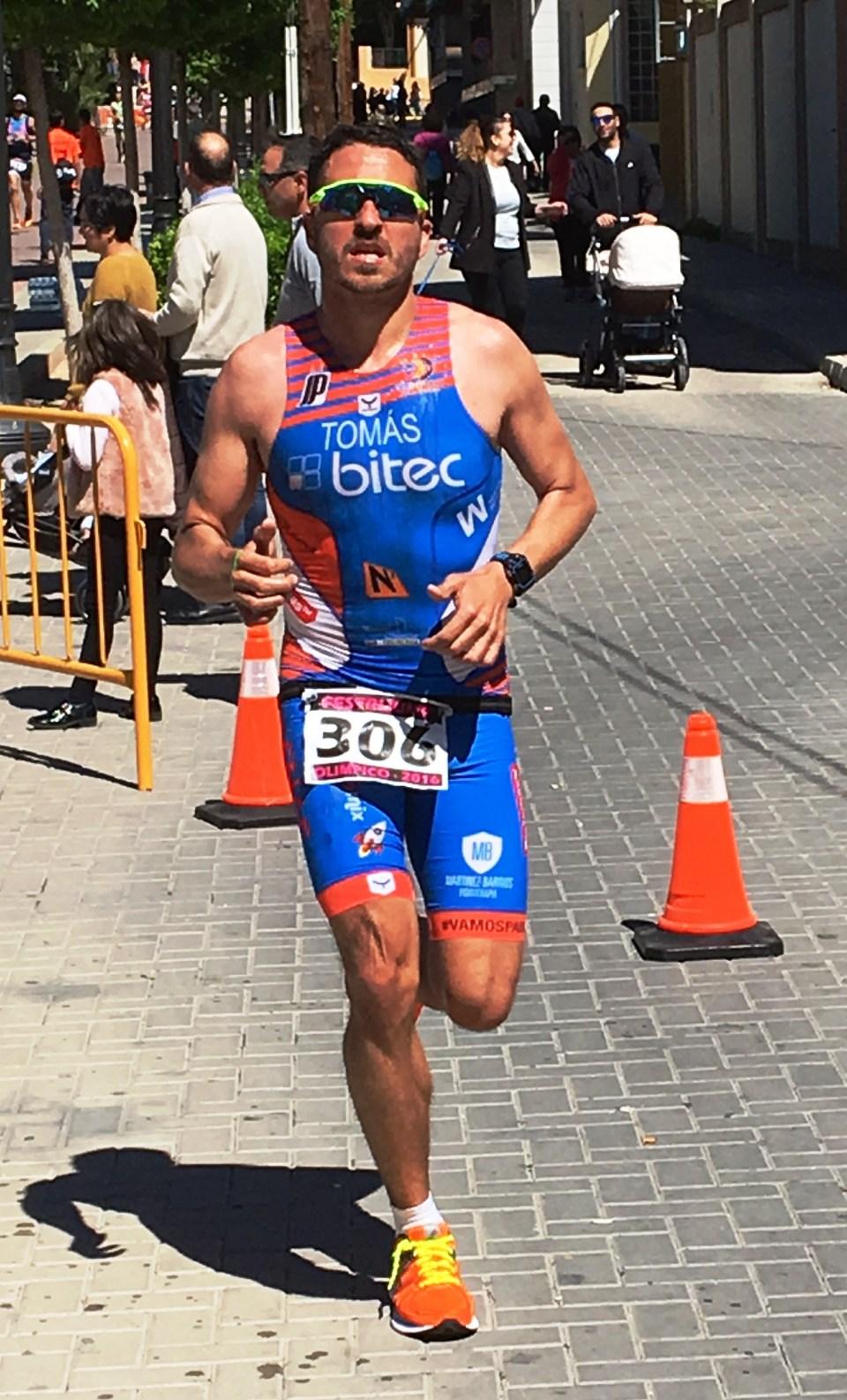 Nacho Tomás - Festrijump 2016 - triatlon olimpico de Jumilla