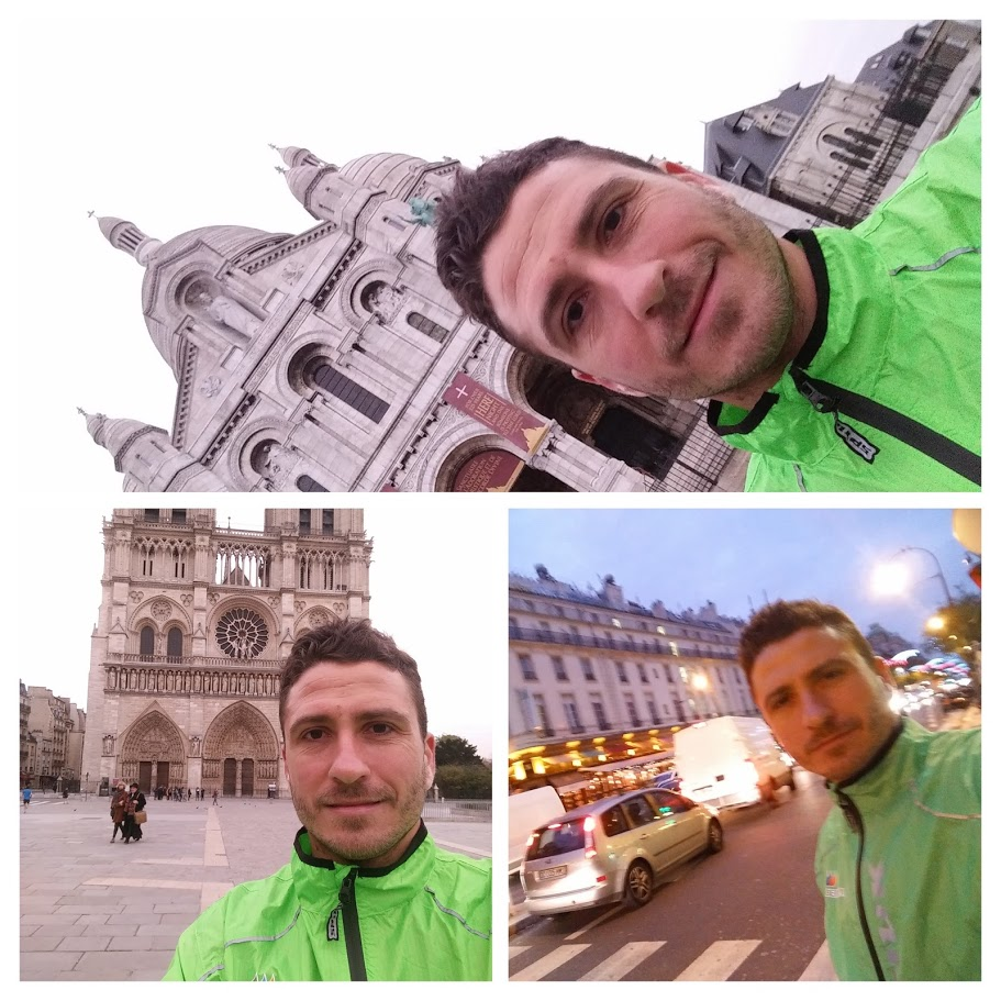 Nacho Tomás - #just2challenge - Trotando por París