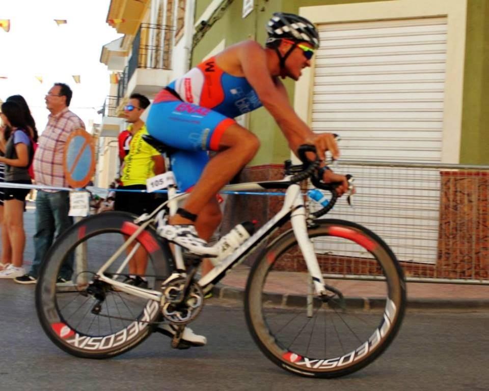 Nacho Tomás - Triatlon Agramon 2016