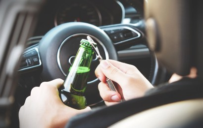 Verkehrsunfall am Kreisverkehr in Kemnath mit betrunkenen Fahrzeugführer