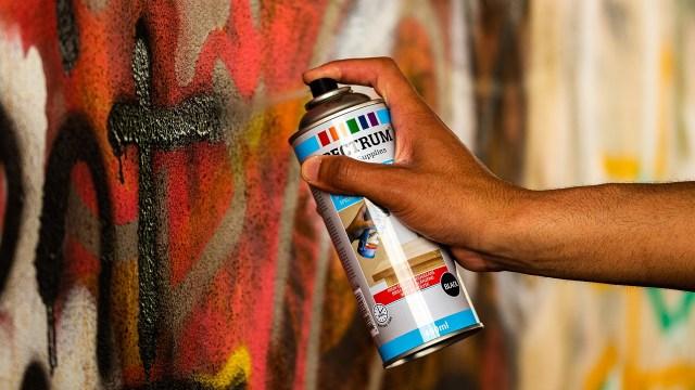 Symbolbild: Graffiti-Sprayer