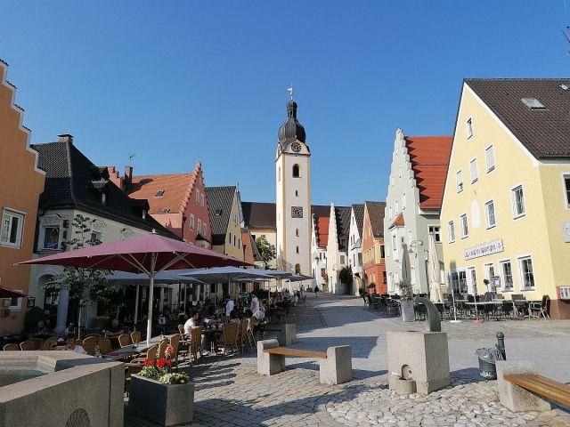 Marktplatz Schwandorf Foto: Pressedienst Wagner
