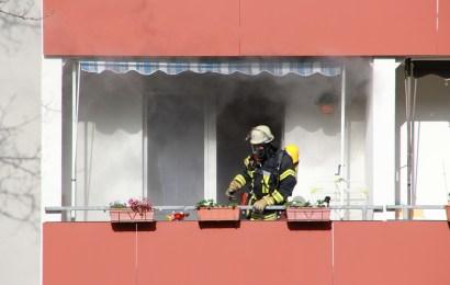Zigarette löst Wohnungsbrand aus
