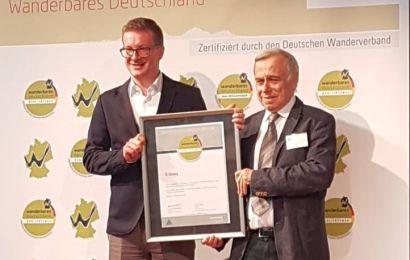 Erzweg und Jurasteig erneut mit Wander-Qualitätssiegel ausgezeichnet