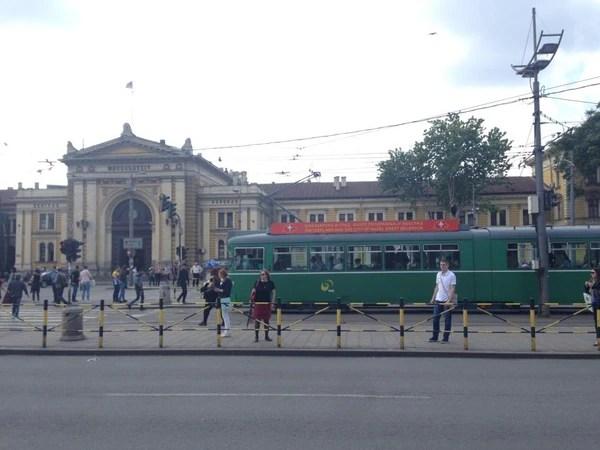 Estación del tren de Belgrado, Serbia. Fotografía: Jairo Villegas S.