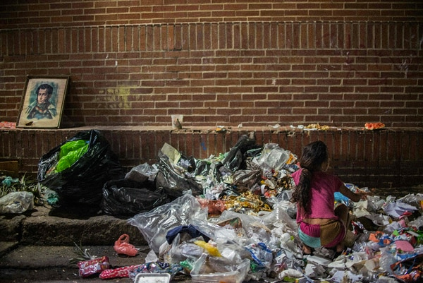 With 600,000 more people from 2014 to 2015, Venezuela leads the growth of undernourished people, with 3.7 million (11.7% of the population), followed by Argentina and Bolivia, where the increase was 0.1% in both countries. Photo File LN