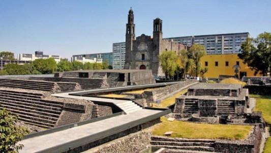 Resultado de imagen para plaza de las tres culturas mexico