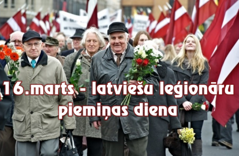 March 16 - Legionnaires' Memorial Day