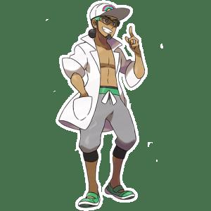Pokémon Sol y Luna professor kukui
