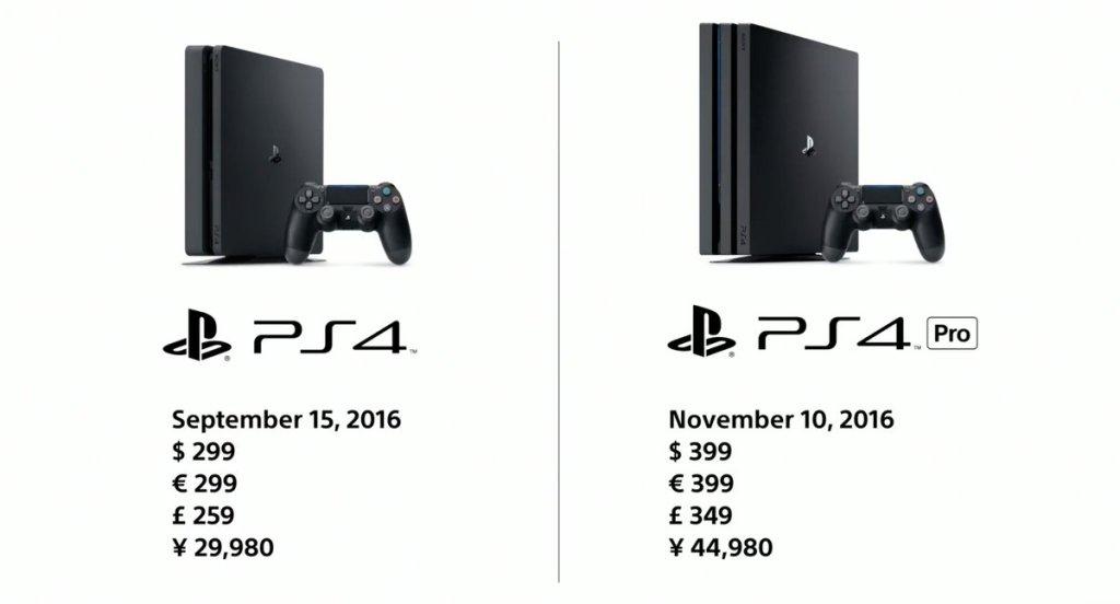 PlayStation 4 S Pro