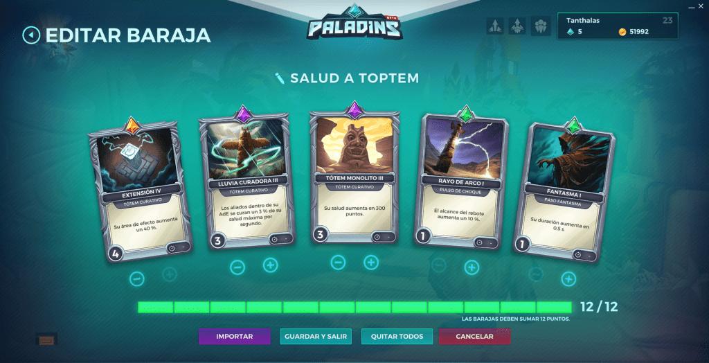 Paladins. Build decks. Grohk