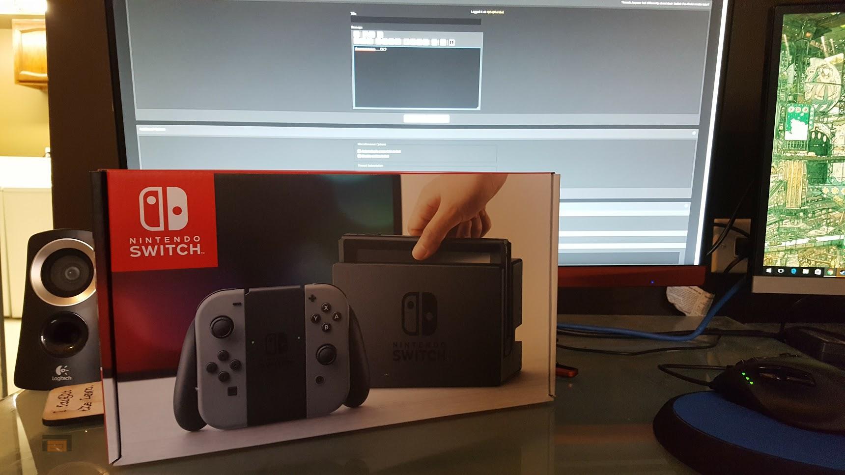 El primer unboxing del mundo de Nintendo Switch