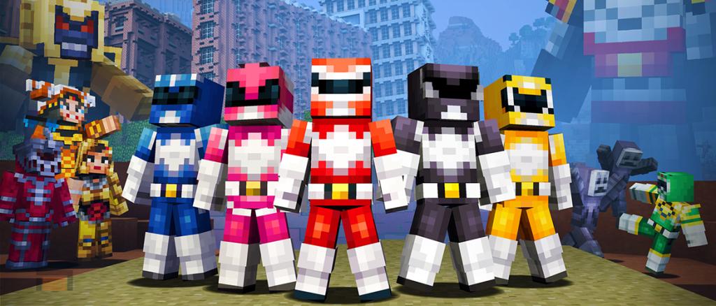 Minecraft. Power Rangers