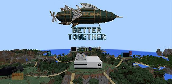 Minecraft. Better Together Update