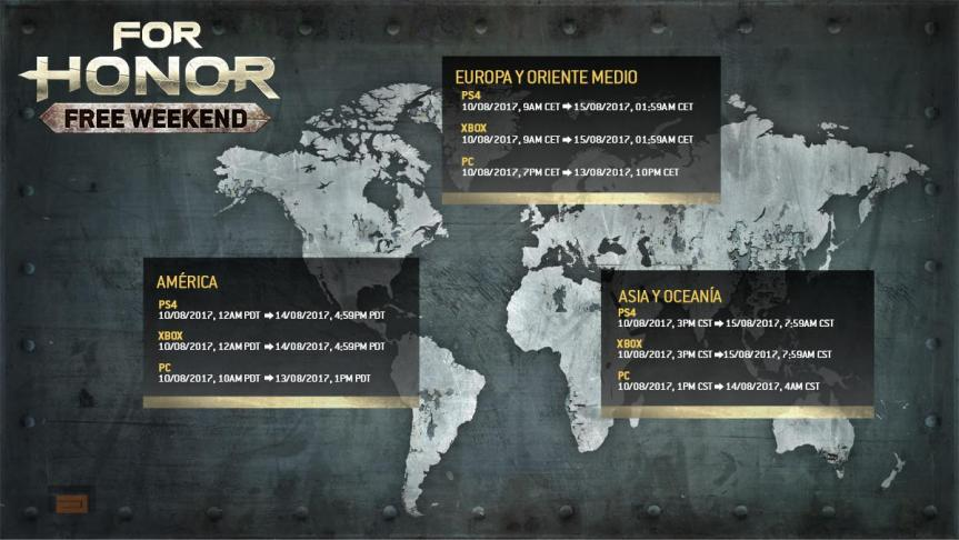 freeweekend for honor