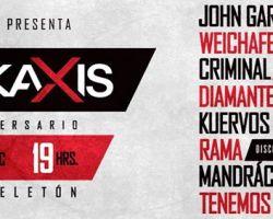 Concurso: Participa por entradas para el festival de aniversario Rockaxis