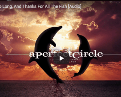 "Cancionero Rock: ""So Long, and Thanks for All the Fish""- A Perfect Circle (2018)"