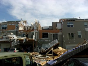 Tornado Cleanup on the Eastern Shore on Kent Island