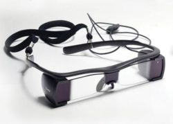 Captioning glasses