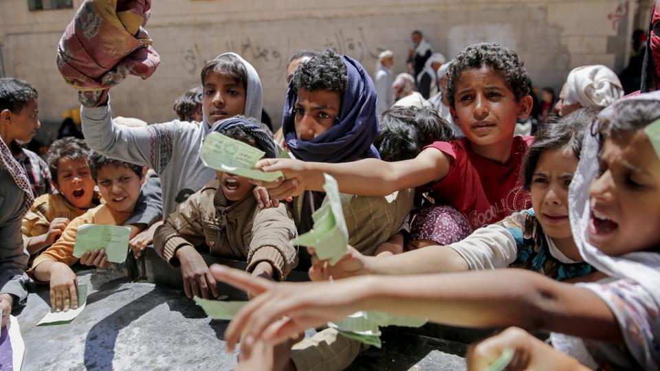 إحصائيات سنة 2017 للإنتهاكات التي تعرض لها الاطفال في اليمن Statistical 2017
