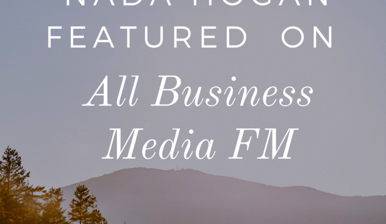 Check out my segment on All Business Media FM!