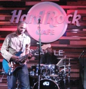 Ayron Jones @ The Hard Rock Cafe