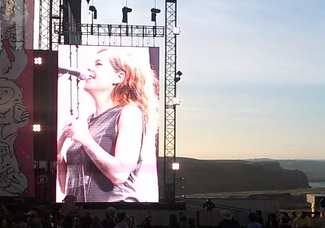 Neko Case at Sasquatch 2014