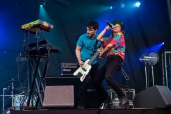 Bomba Estereo 4 @ Bumbershoot 2014 by Sunny Martini for www.nadamucho.com
