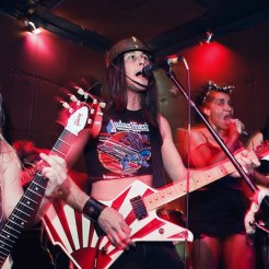 Metal Mike with At the Spine at Mars Bar / Cafe Venus in 2009 or 2010