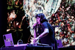 Natasha Kmeto @ The EMP during Decibel Festival 2014