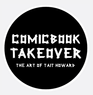 Tait Howard Comicbook Takeover on www.nadamucho.com