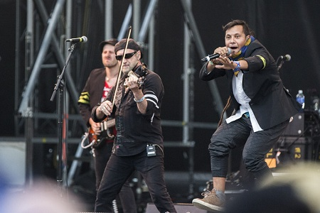 Gogol Bordello at Sasquatch 2015 by Sunny Martini for Nada Mucho