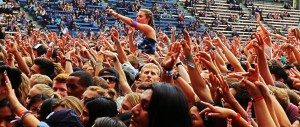Crowd at Bumbershoot 2015 by Jim Toohey for Nada Mucho