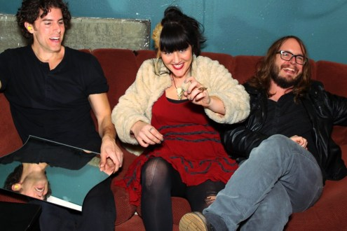 Wes, Mary and Pat at Edge Soundtrack Release Show @ The Skylark by Jim Toohey for Nada Mucho