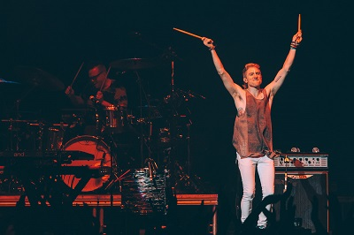 Walk the Moon @ Deck the Hall Ball 2015 by Kyle Davis for Nada Mucho 2