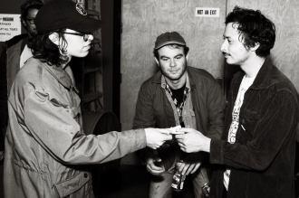Backstage Brotherhood Betwixt Versing and Killer Gost. Photo Jim Toohey.