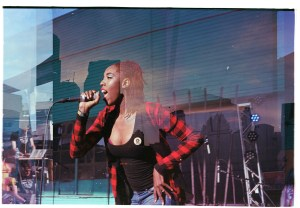 Peace and Red Velvet at Big BLDG Bash 2017 by Jesse Hughey on NadaMucho.com
